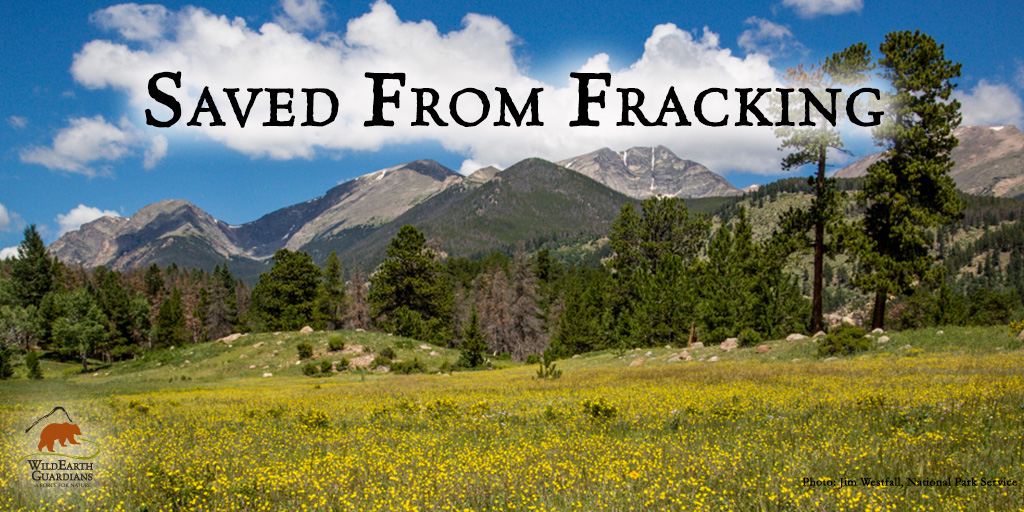 Saved From Fracking RMNP