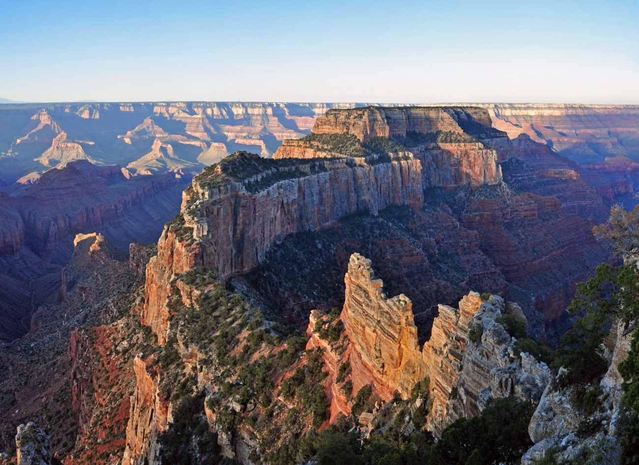 Grand Canyon National Park: North Rim: Sunrise From Cape Royal 0