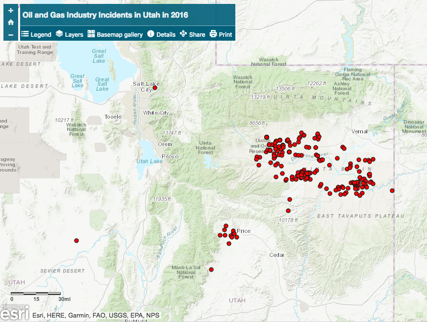 utah incident map