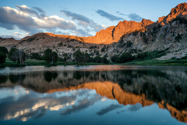 Ruby Mountains Sunset - Beau Rogers
