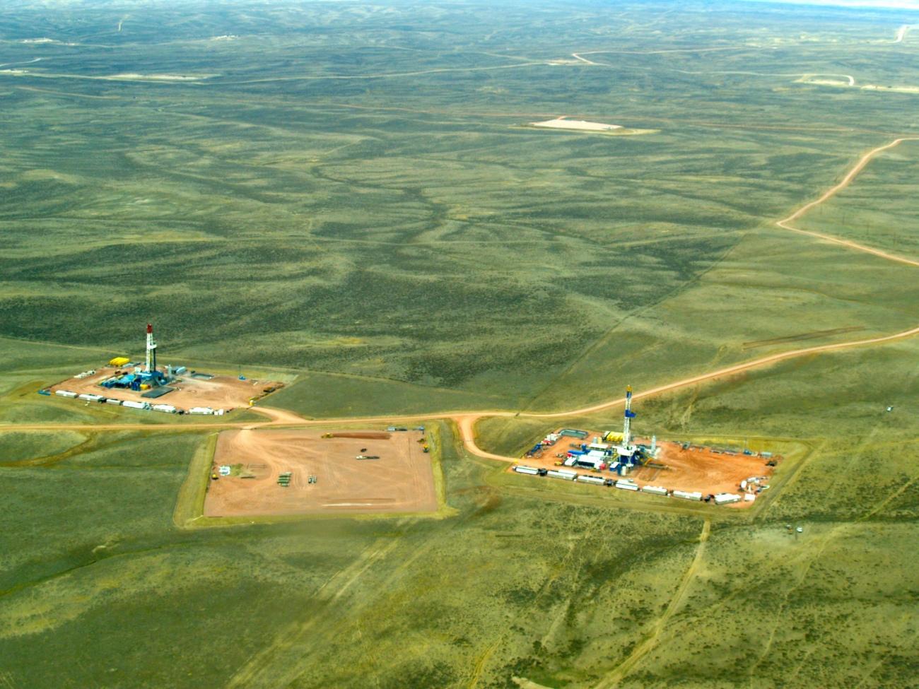 Fracking Near Douglas, WY