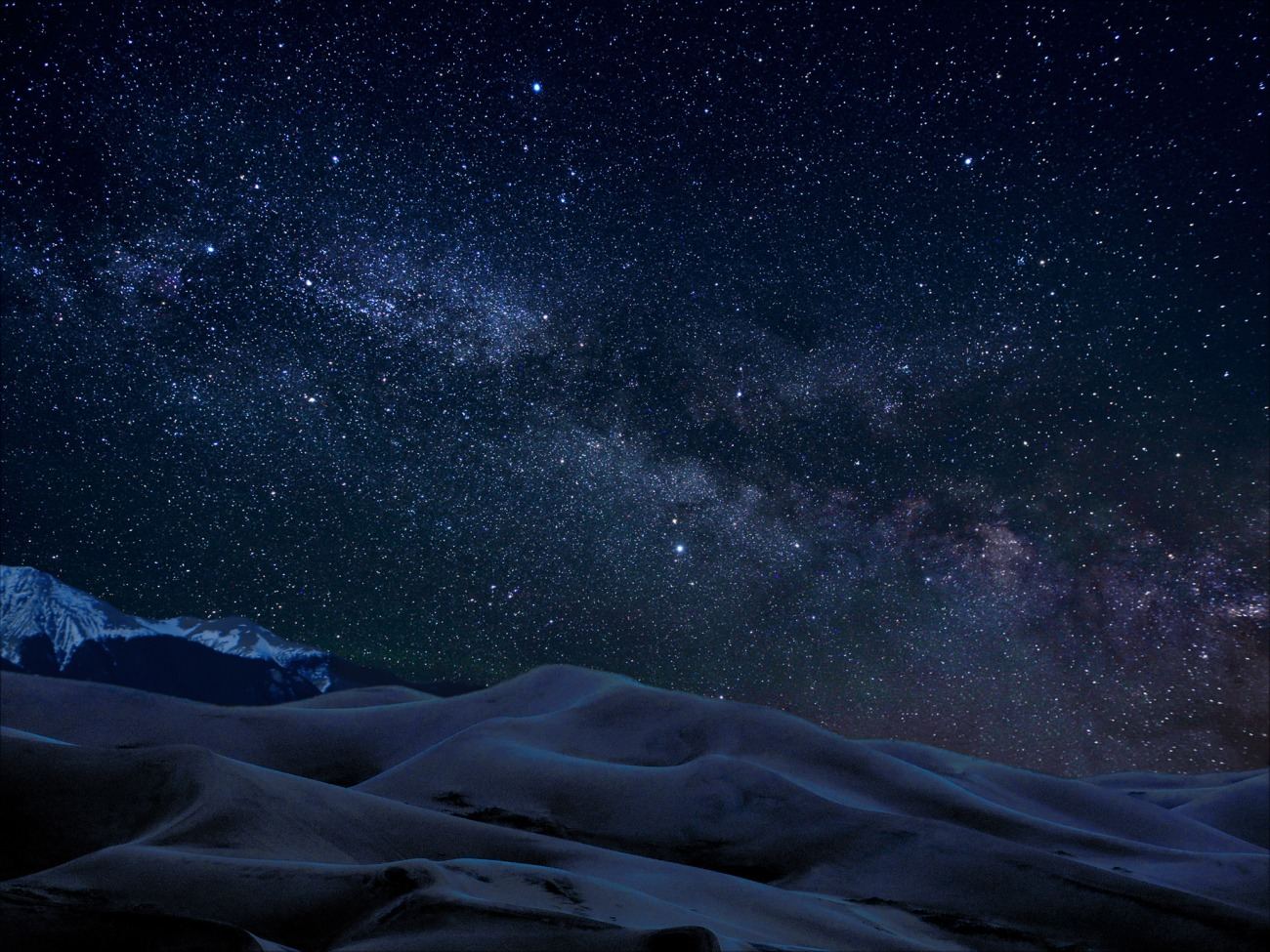 Great Sand Dunes at Night, Patrick Myers, NPS